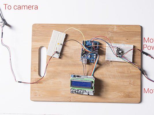 ArduinoStepper Motor Camera Slider -Use Arduino